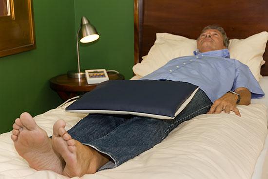 Magnetfeldmatte KLEIN - Einsatz an den Knien